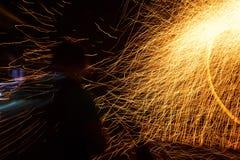 Внутренний круг огня стоковые изображения rf
