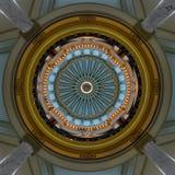 Внутренний купол капитолия Миссиссипи стоковое изображение