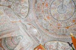 Внутренний купол мечети бейя Ethem, Tinara, Албании Стоковое фото RF