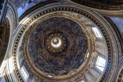 Внутренний купол Рим Стоковые Изображения