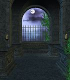 внутренний мавзолей Стоковое Фото