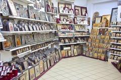 Внутренний магазин значка Стоковые Фотографии RF