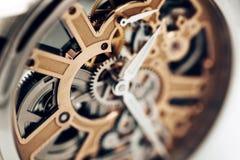 Внутренний механизм наручных часов Стоковые Изображения RF