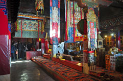 Внутренний монастырь Drepung Стоковые Фотографии RF