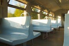 внутренний поезд Стоковые Изображения RF