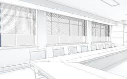 Внутренний проект иллюстрация штока