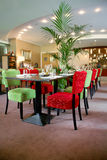 внутренний ресторан Стоковые Изображения