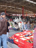 Внутренний рынок антиквариата Пекина Panjiayuan Стоковая Фотография RF