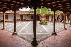 Внутренний сад в чилеански Стоковая Фотография