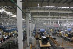 Внутренний сборочного завода Стоковое Изображение RF