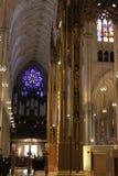 Внутренний собор ` s St. Patrick - Нью-Йорк Стоковое Изображение