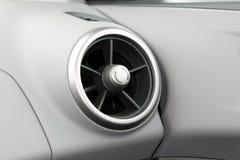 Внутренний современный автомобиль Стоковое Изображение