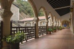 Внутренний старый монастырь Стоковые Фотографии RF