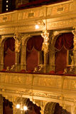 внутренний старый театр Стоковая Фотография RF