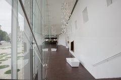 внутренний ходок музея Стоковые Фотографии RF