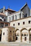 Внутренний ярд монастыря Burgos, Испании Стоковые Изображения