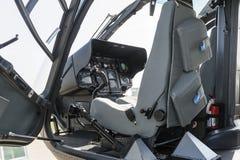 Внутренность в EC 135 Стоковое Изображение