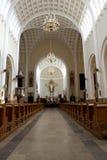 внутренность церков зодчества родовая Стоковое Изображение RF