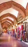 Внутренность Koza Хана где они продают шелк Стоковые Фото
