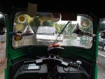Внутренняя автоматическая рикша Стоковые Изображения RF