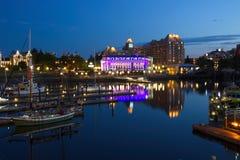 Внутренняя гавань, Виктория, Британская Колумбия стоковые фото