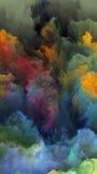 Внутренняя жизнь атмосферы чужеземца Стоковые Изображения
