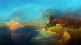 Внутренняя жизнь атмосферы чужеземца Стоковые Изображения RF