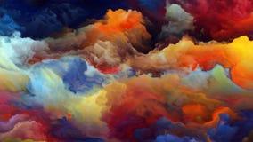 Внутренняя жизнь атмосферы чужеземца Стоковые Фото