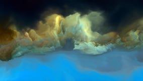 Внутренняя жизнь атмосферы чужеземца Стоковое Изображение RF
