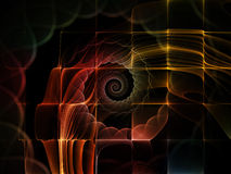Внутренняя жизнь космоса Стоковые Фото