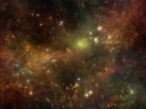 Внутренняя жизнь космоса Стоковые Изображения RF
