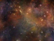 Внутренняя жизнь космоса Стоковое Изображение