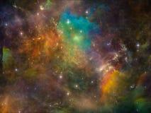 Внутренняя жизнь космоса Стоковая Фотография RF