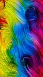 Внутренняя жизнь краски цифров Стоковое Изображение