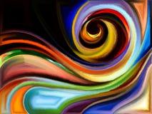 Внутренняя жизнь краски Стоковое Изображение RF