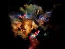 Внутренняя жизнь мечт космоса Стоковое Фото