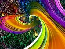 Внутренняя жизнь мира цифров Стоковые Фотографии RF