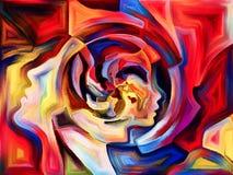 Внутренняя жизнь разделения Стоковое Изображение