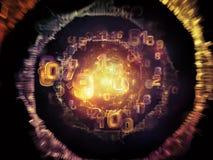 Внутренняя жизнь сети Стоковое фото RF
