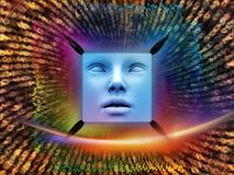 Внутренняя жизнь супер человека AI Стоковая Фотография RF