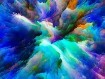 Внутренняя жизнь сюрреалистической краски Стоковое Изображение