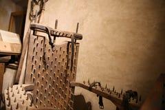 Внутренняя золотая майна Прага Стоковая Фотография RF