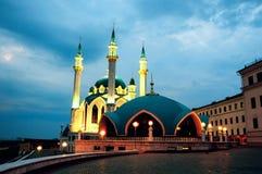 Внутренняя Казань Кремль, Россия, мечеть Qol Sharif стоковые изображения