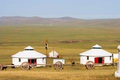 Внутренняя Монголия Jinzhanghan путешествуя племя Стоковые Изображения RF