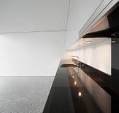 Внутренняя, отечественная кухня Стоковая Фотография