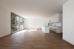 Внутренняя, отечественная кухня стоковое изображение rf