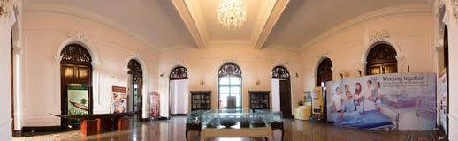 Внутренняя панорама музея Chao Phya Abhaibhubejhr Стоковая Фотография RF
