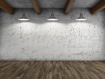 Внутренняя просторная квартира стиля Стоковые Фотографии RF