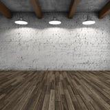 Внутренняя просторная квартира стиля Стоковое Изображение RF