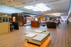 Внутренняя работа авиапорта Narita в Японии Стоковая Фотография